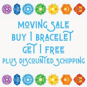 Moving Sale - Buy 1 Get 1 Free Bracelet - Jewelry